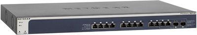 NETGEAR ProSAFE XS712T 12-Port 10-Gigabit Smart Switch 10G-baseT